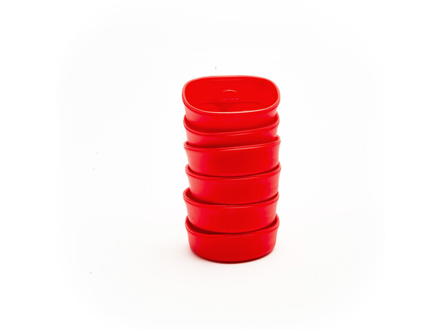 Wildo Fold-A-Cup Set Unicolor 6x Red
